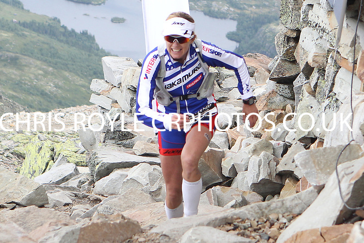 Race number 283 - Charlotte Knudsen -  Sunday Norseman Xtreme Tri 2012 - Norway - photo by chris royle / boxingheaven@gmail.com