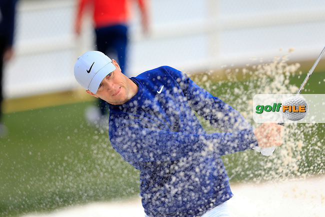 Alex Noren (SWE) during the preview round of the Waste Management Phoenix Open, TPC Scottsdale, Scottsdale, Arisona, USA. 30/01/2019.<br /> Picture Fran Caffrey / Golffile.ie<br /> <br /> All photo usage must carry mandatory copyright credit (© Golffile | Fran Caffrey)
