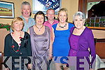 Welcoming in the New Year in Darby O'Gills Hotel, Killarney on Friday night were Kate O'Connell, Peter and Deirdre Fee, Gene and Amanda Kelly and Glen Feeney.