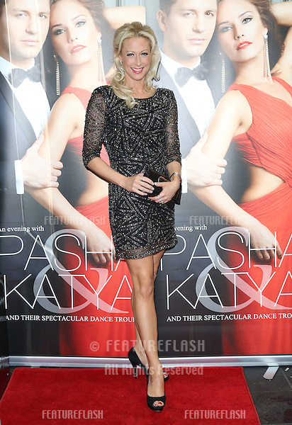 Faye Tozer at the Katya and Pasha West End show - Gala night held at the Lyric Theatre, London. 07/04/2014 Picture by: Henry Harris / Featureflash