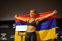Nova York, EUA, 01.10.2019 - UFC-NOVA YORK - Katlyn Chookagian durante pesagem UFC 244no Madsion Square Garden na cidade de Nova York nesta sexta-feira, 01. A luta acontece no sábado 02. (Foto: Vanessa Carvalho/Brazil Photo Press/Folhapress)