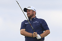 Shane Lowry (IRL) tees off the par3 the 6th tee during Saturday's Round 3 of the 117th U.S. Open Championship 2017 held at Erin Hills, Erin, Wisconsin, USA. 17th June 2017.<br /> Picture: Eoin Clarke | Golffile<br /> <br /> <br /> All photos usage must carry mandatory copyright credit (&copy; Golffile | Eoin Clarke)