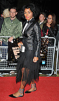 Janelle Monae at the 60th BFI London Film Festival &quot;Moonlight&quot; Official Competition screening, Emnbankment Garden Cinema, Villiers Street, London, England, UK, on Thursday 06 October 2016.<br /> CAP/CAN<br /> &copy;CAN/Capital Pictures /MediaPunch ***NORTH AND SOUTH AMERICAS ONLY***