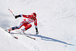 Gakuta Koike (JPN),<br /> MARCH 11, 2018 - Alpine Skiing : <br /> Men's Super G Standing <br /> at Jeongseon Alpine Centre  <br /> during the PyeongChang 2018 Paralympics Winter Games in Pyeongchang, South Korea. <br /> (Photo by Yusuke Nakanishi/AFLO SPORT)