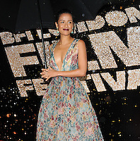 Gugu Mbatha-Raw at the 60th BFI London Film Festival Awards 2016, Banqueting House, Whitehall, London, England, UK, on Saturday 15 October 2016.<br /> CAP/CAN<br /> &copy;CAN/Capital Pictures /MediaPunch ***NORTH AND SOUTH AMERICAS ONLY***