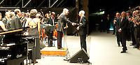 Roma 21th July 2009 - 13th Fina World Championships From 17th to 2nd August 2009.Concerto di Ennio Morricone durante una serata evento organizzata dalla Fina (Federazione Internazionale di Nuoto) a Villa Adriana a Tivoli.photo: Roma2009.com/InsideFoto/SeaSee.com