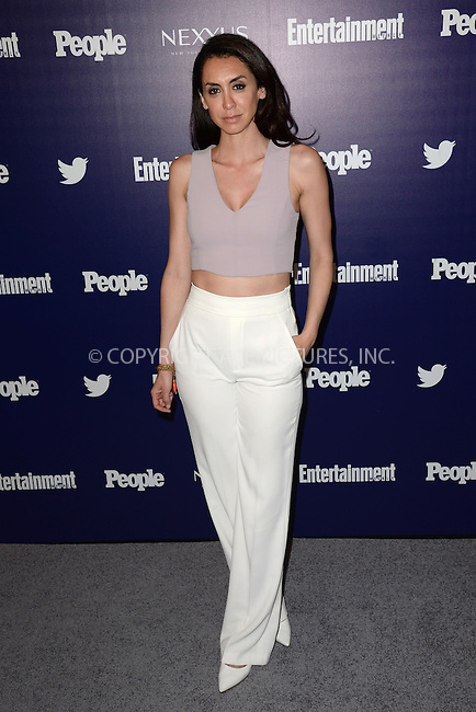 WWW.ACEPIXS.COM<br /> May 11, 2015 New York City<br /> <br /> Mozhan Marno attending the Entertainment Weekly and People celebration of The New York Upfronts at The Highline Hotel onMay 11, 2015 in New York City.<br /> <br /> Please byline: Kristin Callahan/AcePictures<br /> <br /> Tel: (646) 769 0430<br /> e-mail: info@acepixs.com<br /> web: http://www.acepixs.com