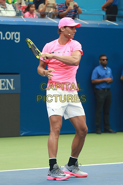 NEW YORK, NY - AUGUST 26: Rafael Nadal  at the 2017 Arthur Ashe Kid's Day at Billie Jean King National Tennis Center on August 26, 2017 in New York City. <br /> CAP/MPI/DIE<br /> &copy;DIE/MPI/Capital Pictures