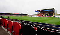 A general view of Sincil Bank, home of Lincoln City FC<br /> <br /> Photographer Chris Vaughan/CameraSport<br /> <br /> The EFL Sky Bet League Two - Lincoln City v Crewe Alexandra - Saturday 6th October 2018 - Sincil Bank - Lincoln<br /> <br /> World Copyright &copy; 2018 CameraSport. All rights reserved. 43 Linden Ave. Countesthorpe. Leicester. England. LE8 5PG - Tel: +44 (0) 116 277 4147 - admin@camerasport.com - www.camerasport.com