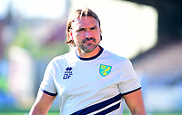 Norwich City manager Daniel Farke<br /> <br /> Photographer Andrew Vaughan/CameraSport<br /> <br /> Football Pre-Season Friendly - Lincoln City v Norwich City - Tuesday 10th July 2018 - Sincil Bank - Lincoln<br /> <br /> World Copyright &copy; 2018 CameraSport. All rights reserved. 43 Linden Ave. Countesthorpe. Leicester. England. LE8 5PG - Tel: +44 (0) 116 277 4147 - admin@camerasport.com - www.camerasport.com