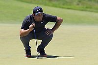 Francesco Molinari (ITA) on the 9th green during Saturday's Round 3 of the 118th U.S. Open Championship 2018, held at Shinnecock Hills Club, Southampton, New Jersey, USA. 16th June 2018.<br /> Picture: Eoin Clarke | Golffile<br /> <br /> <br /> All photos usage must carry mandatory copyright credit (&copy; Golffile | Eoin Clarke)
