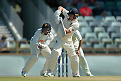 November 4th 2017, WACA Ground, Perth Australia; International cricket tour, Western Australia versus England, day 1; Gary Balance plays down the leg side during his innings
