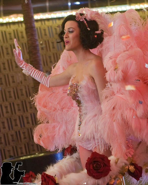 Katy Perry Music video on Fremont Street March 10 2009
