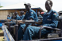 UNDP South Sudan provides access to justice by supporting and monitoring an Emergency & Network Control Centre in Juba. 500 trained police men work here to attend and follow-up emergency calls from Juba area.