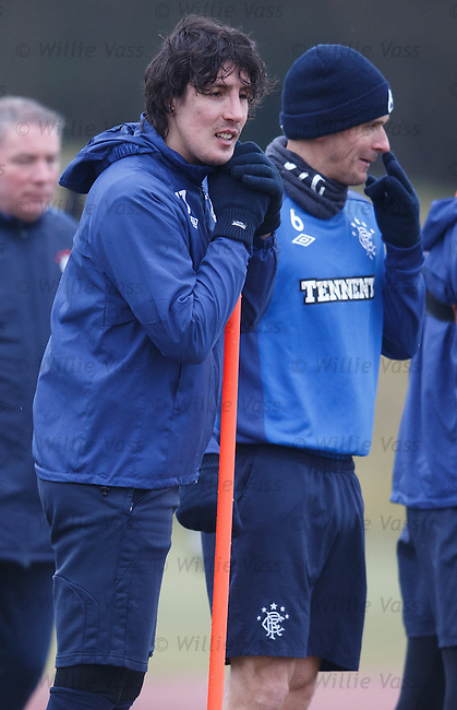 Fran Sandaza and Lee McCulloch