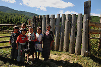 Young children in front of a firm at Bumthang, Bhutan. Arindam Mukherjee..