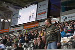 Hull City 3 Preston North End 0, 10/11/2007. KC Stadium, Championship. An angry Preston supporter voices his option. Photo by Paul Thompson.