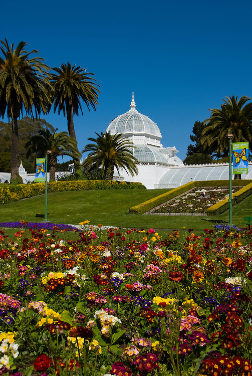 California: San Francisco. Conservatory of Flowers in Golden Gate Park.  Photo copyright Lee Foster. Photo #: 23-casanf78894