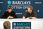 Padraig Harrington gives an interview ahead of the 2011 Barclays Scottish Open, played over the links at Castle Stuart, Inverness, Scotland from 7th to 10th July 2011:  picture, Stuart Adams, www.golffile.ie : 5th July 2011