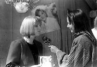 Une des soeurs de Celine Dion entre 1985 et 1994 (date exacte inconnue)<br /> <br /> PHOTO :  Agence Quebec presse