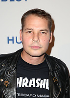 LOS ANGELES, CA - NOVEMBER 7: Shepard Fairey, at Photo Op For Hulu's 'Obey Giant at the The Theatre at Ace Hotel in Los Angeles, California on November 7, 2017. Credit: Faye Sadou/MediaPunch /NortePhoto.com