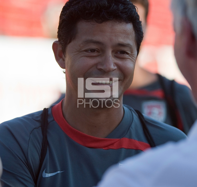 Head Coach Wilmer Cabrera. The Under-17 US Men's National Team defeated Cuba 5-0 at the 2009 CONCACAF Under-17 Championship April 21, 2009 in Tijuana, Mexico.