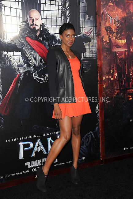 WWW.ACEPIXS.COM<br /> October 4, 2015 New York City<br /> <br /> Condola Rashad attending the 'Pan' New York Premiere arrivals at Ziegfeld Theater on October 4, 2015 in New York City.<br /> <br /> Credit: Kristin Callahan/ACE Pictures<br /> <br /> Tel: (646) 769 0430<br /> e-mail: info@acepixs.com<br /> web: http://www.acepixs.com