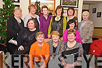 Enjoying Womens Christmas in Darby O'Gills on Tuesday night were  Mary O'Connor, Anne O'Connor, Mary Anne Healy, Margaret Brosnan, Betty O'Rourke, Sheila Ahern, Nora O'Connor, Mairead Cronin, Deirdre Kearney, Noin McGuire and Mary Brosnan....
