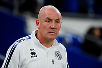 Mark Warburton manager of Queens Park Rangers during the Sky Bet Championship match between Cardiff City and Queens Park Rangers at the Cardiff City Stadium in Cardiff, Wales, UK. Wednesday 02 October, 2019