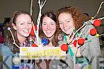 HAPPYEASTER: Clodagh Edwards, Laura Brodie and Suzanne Hall made up ma Happy Easter Tree at the Camp Childcare Arts & Craft Fair on Sunday in the Camp Community Centre...