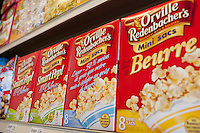 Orville Redenbacher's popping corn (popcorn) are seen in a Metro grocery store in Quebec city March 4, 2009. Orville Redenbacher's is owned by ConAgra Foods