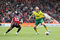 Teemu Pukki of Norwich City takes on Adam Smith of Bournemouth during the Premier League match between Bournemouth and Norwich City at Goldsands Stadium on October 19th 2019 in Bournemouth, England. (Photo by Mick Kearns/phcimages.com)<br /> Foto PHC/Insidefoto <br /> ITALY ONLY