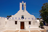 church of the Greek Orthodox monastery of Kalamos, Ios, Cyclades Islands, Greece