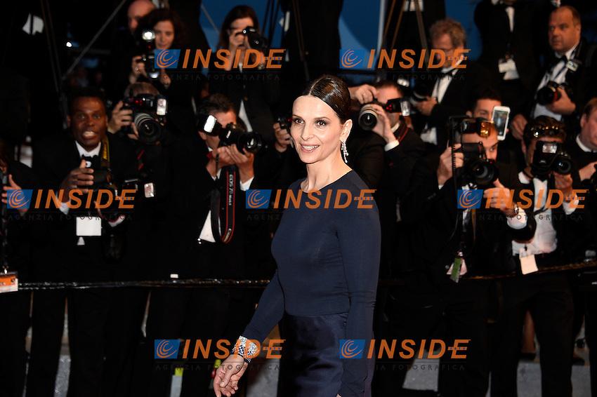 Juliette Binoche<br /> Festival di Cannes 2016 <br /> Foto Panoramic / Insidefoto