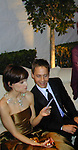 Hillary Swank &amp;  Chad Lowe<br />2000 Vanity Fair Post Oscar Party<br />Morton's Restaurant<br />Los Angeles, California, USA<br />March 26, 2000<br />Photo by Celebrityvibe.com