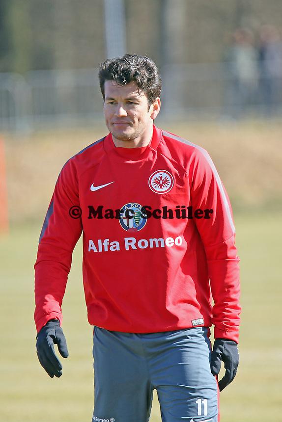 Nelson Valdez (Eintracht) - Eintracht Frankfurt Training, Commerzbank Arena