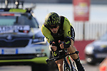 Michael Albasini (SUI) Mitchelton-Scott during Stage 1 of the La Vuelta 2018, an individual time trial of 8km running around Malaga city centre, Spain. 25th August 2018.<br /> Picture: Eoin Clarke | Cyclefile<br /> <br /> <br /> All photos usage must carry mandatory copyright credit (© Cyclefile | Eoin Clarke)