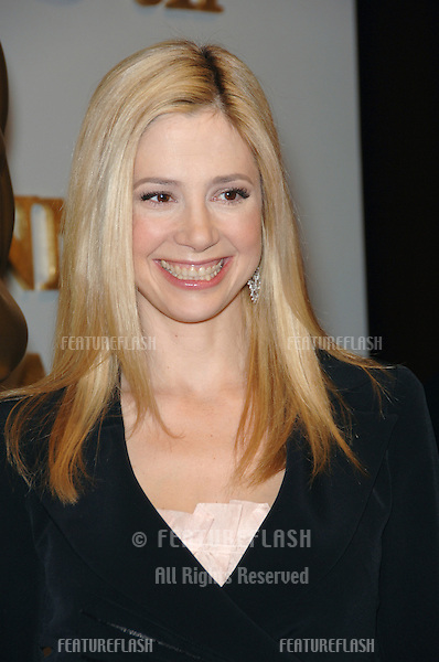 Actress MIRA SORVINO at the nominees announcement for the 78th Annual Academy Awards..January 31, 2006  Beverly Hills, CA..© 2006 Paul Smith / Featureflash