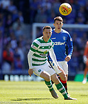 12.05.2019 Rangers v Celtic: Callum McGregor and Ryan Jack