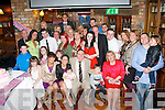 Clodagh Lynch and Ray Hanafin, Riverside Drive, Tralee (seated centre) had their new baby Caylee christened last Saturday afternoon in St Brendan's Church, Tralee by Fr Patsy Lynch and celebrated afterwards with family in the Meadowlands hotel, Tralee.