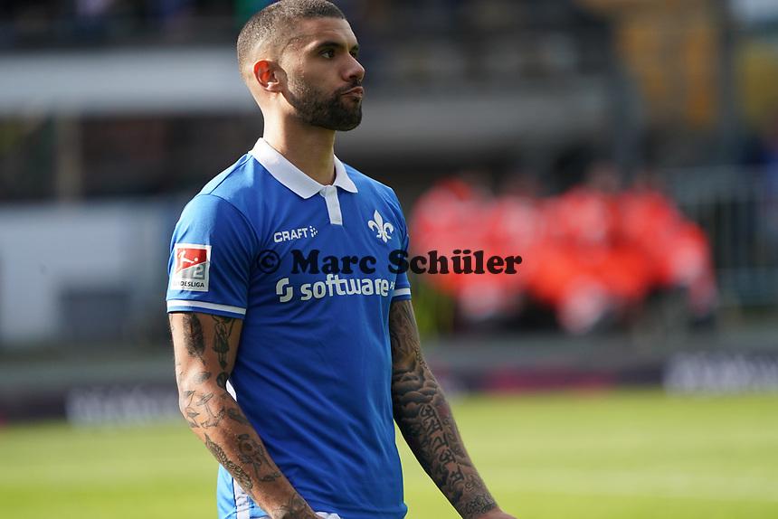 Victor Palsson (SV Darmstadt 98) - 07.03.2020: SV Darmstadt 98 vs. VfL Bochum, Stadion am Boellenfalltor, 2. Bundesliga<br /> <br /> DISCLAIMER: <br /> DFL regulations prohibit any use of photographs as image sequences and/or quasi-video.