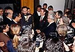 Bagdad, Franco Battiato con Tareq Aziz Franco Battiato with Tareq Aziz