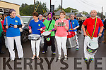 Samba Cuisle at the Cloghane/Brandon annual Féile Lúghnasa Fancy Dress Parade on Sunday
