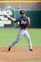 Tyler Pastornicky - Phoenix Desert Dogs - 2010 Arizona Fall League.Photo by:  Bill Mitchell/Four Seam Images..