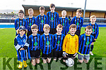 U13 Inter Kenmare team who played Tralee Dynamos in the U13 National Cup on Saturday. Front l to r: Theo Coady,  David O'Brien, Neal O'Shea, Sean Casey, Conor Galvin and Philip O'Sullivan.<br /> Back l to r: Jack Sweeney, David Gobovich, Charlie Guest, Michael Cagney, Darragh Murphy, Donnacha O'Sullivan and Kaolin Desmond.