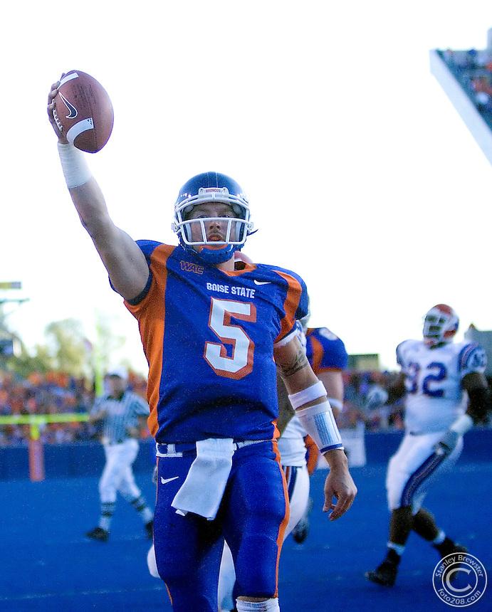10-7-06. Boise, ID. Boise State Broncos vs. the La Tech Bulldogs in Bronco Stadium.