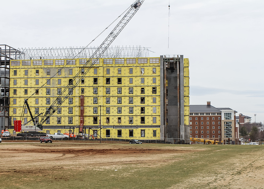 Construction on campus March 9, 2015. Photo by David DuncanConstruction on campus March 9, 2015. Photo by David Duncan