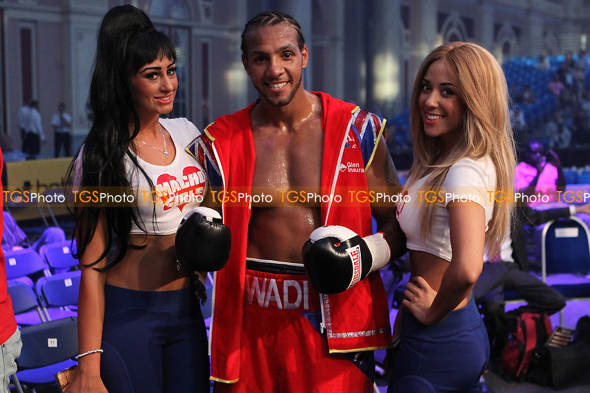 Wadi Camacho vs Andy Ingram in a boxing contest at the Alexander Palace, London, promoted by Matchroom Sport - 08/09/12 - MANDATORY CREDIT: Chris Royle/TGSPHOTO - Self billing applies where appropriate - 0845 094 6026 - contact@tgsphoto.co.uk - NO UNPAID USE..
