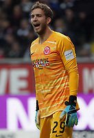 Torwart Felix Wiedwald (Eintracht Frankfurt) - 23.11.2019: Eintracht Frankfurt vs. VfL Wolfsburg, Commerzbank Arena, 12. Spieltag<br /> DISCLAIMER: DFL regulations prohibit any use of photographs as image sequences and/or quasi-video.