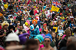 © Joel Goodman - 07973 332324. 05/08/2017 . Macclesfield , UK . Thousands of people at the Rewind Festival celebrating 1980s music and culture , at Capesthorne Hall in Siddington , Cheshire . Photo credit : Joel Goodman
